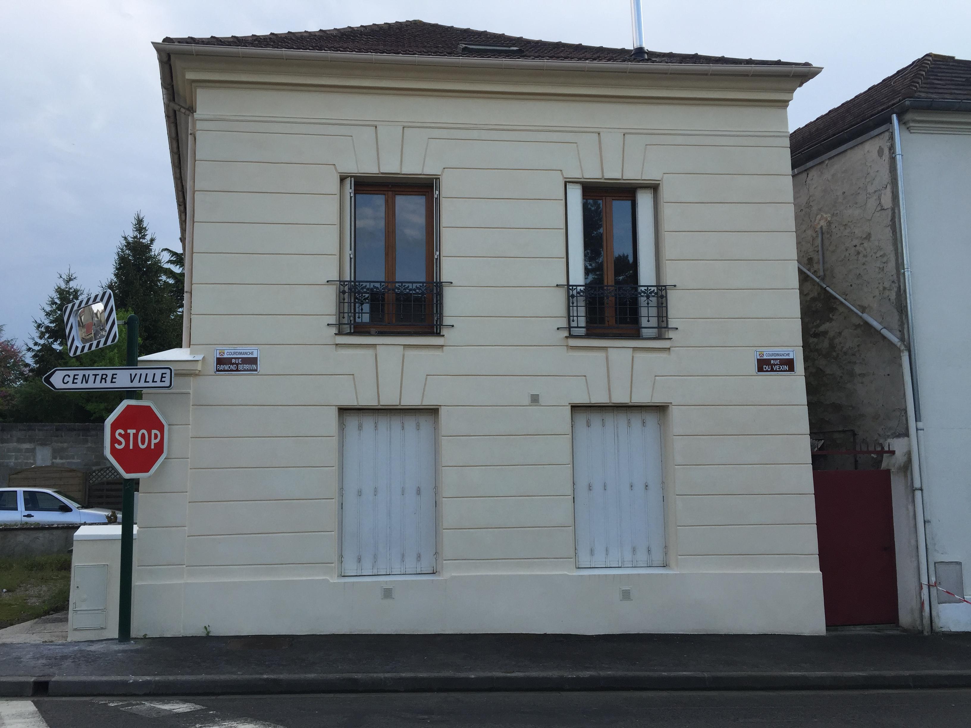 Ravalement de façade à Pontoise 95